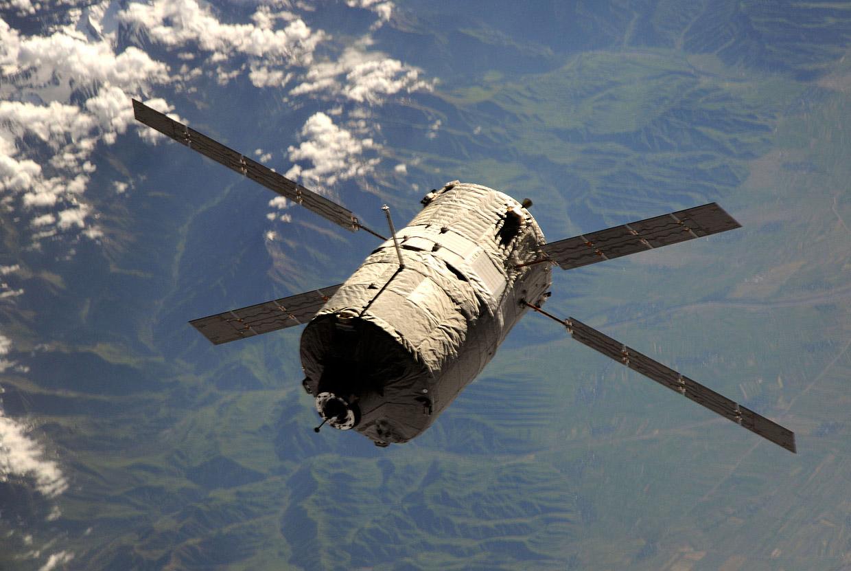 ВТихом океане приводнился космический фургон Dragon