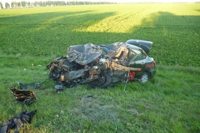 Лобовое столкновение: вДТП под Тамбовом погибло 2 человека