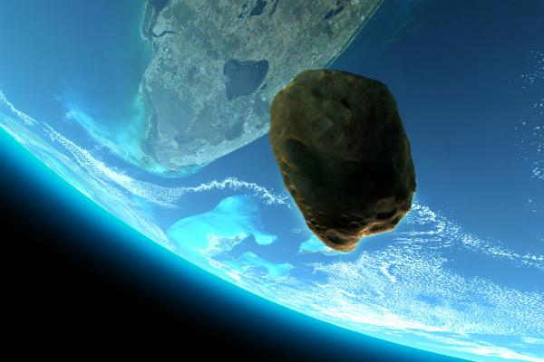 Астероид размером сМГУ пролетел в небезопасной близости отЗемли
