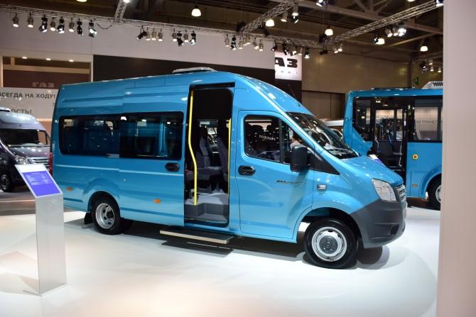 Вконце 2016 впродаже появятся микроавтобусы набазе «ГАЗель NEXT»