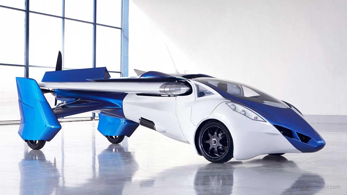 Автомобиль-самолет появится в продаже уже в следующем году