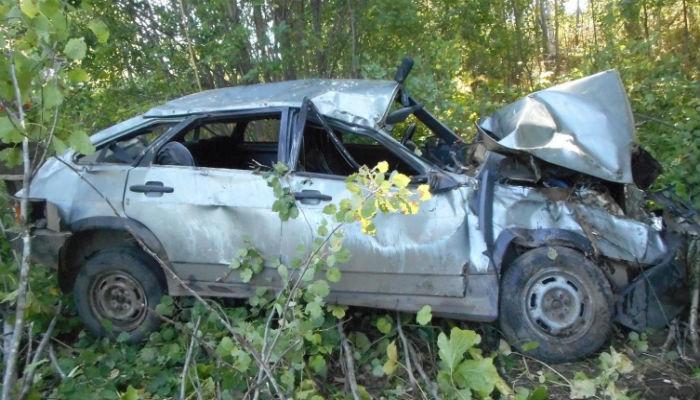 ВСанчурском районе улетела вкювет «девятка»: шофёр умер