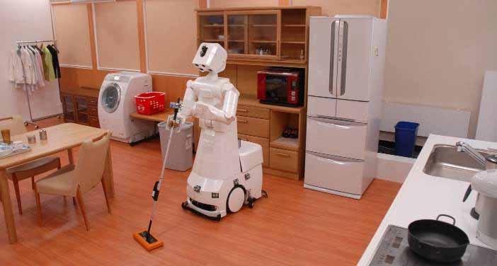 Японская компания анонсировала нового домашнего робота