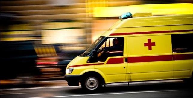 Иномарка протаранила машину скорой помощи вЧереповце, имеется пострадавший
