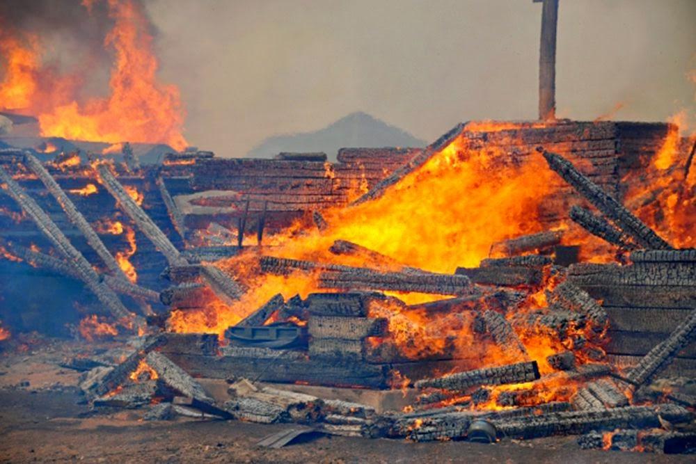 Впожаре в личном доме вЛенобласти умер мужчина