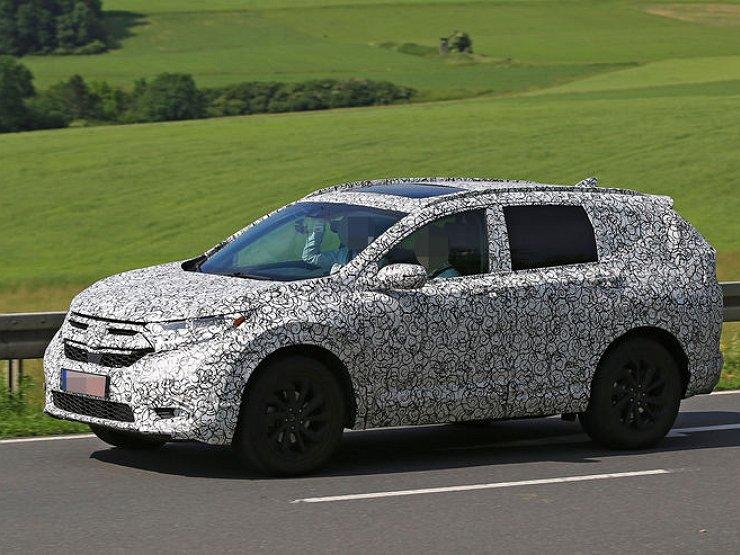 Вweb-сети интернет возникла фотография нового кроссовера Хонда CR-V