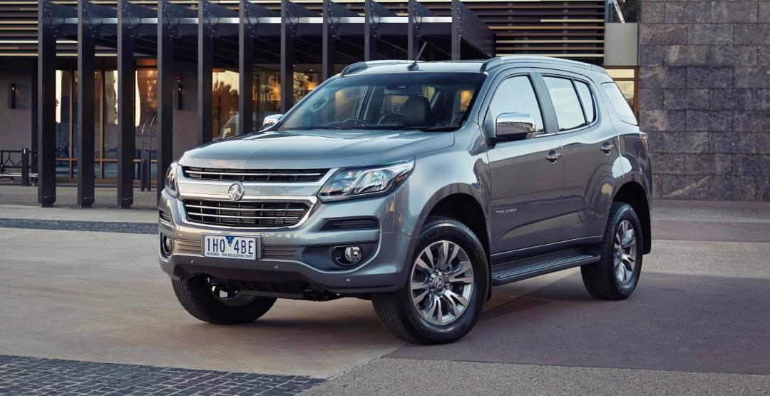Озвучена стоимость нового джипа Holden Trailblazer