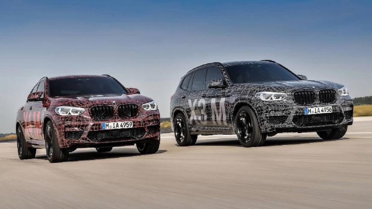 Кроссоверы BMW X3 M и X4 M могут увидеть свет до конца 2018 года