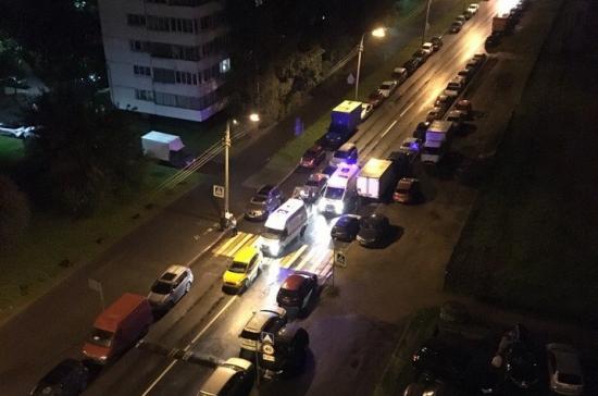 ВПетербурге наБайконурской сбили девушку