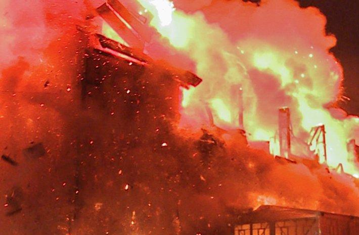 ВТукаевском районе напожаре умер 71-летний пенсионер