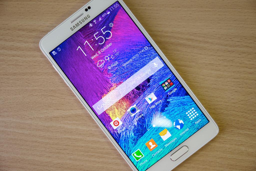 Новый Смартфон Samsung Galaxy Note назвали в честь Леонардо да Винчи