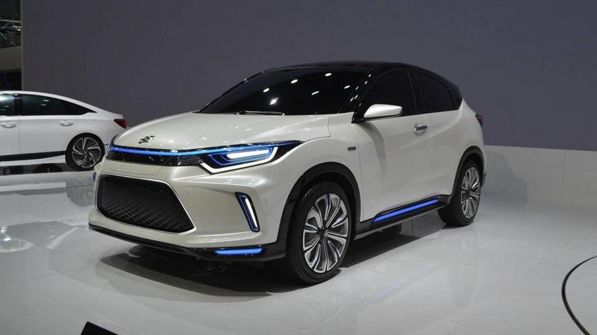 Компания Honda запатентовала новый кроссовер