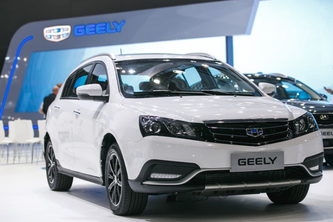 Emgrand GT от компании Geely появится в России в декабре