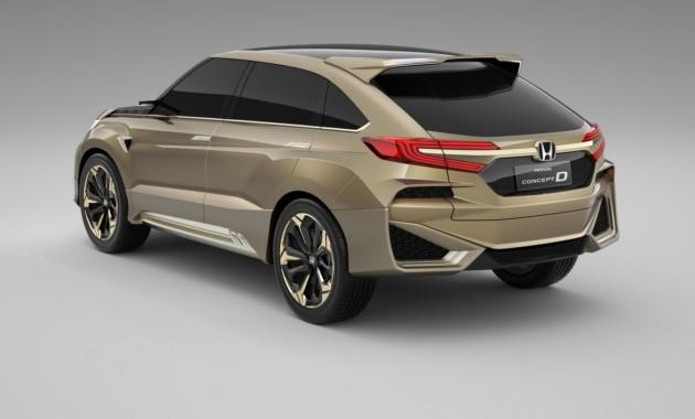 В КНР Хонда проводит тестирования нового купеобразного кроссовера
