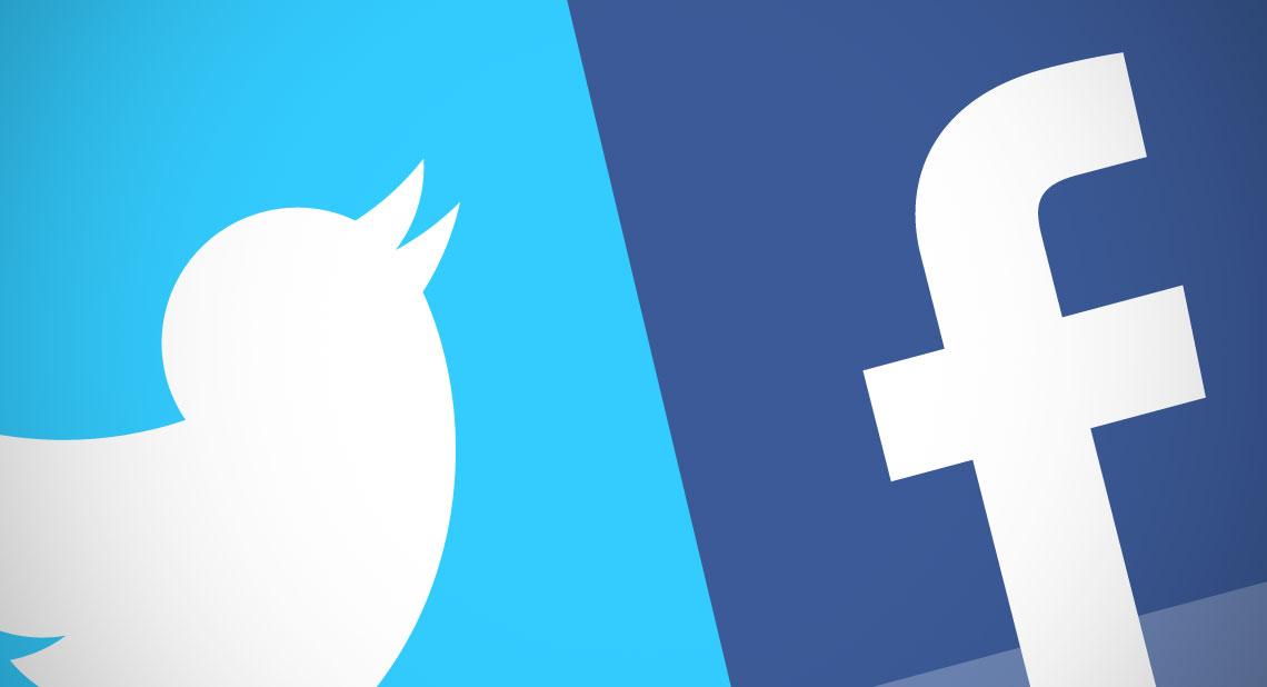 Социальная сеть Facebook и Твиттер присоединились кпартнерским СМИ