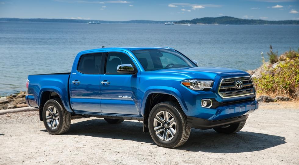 Тойота увеличит производство пикапа Tacoma