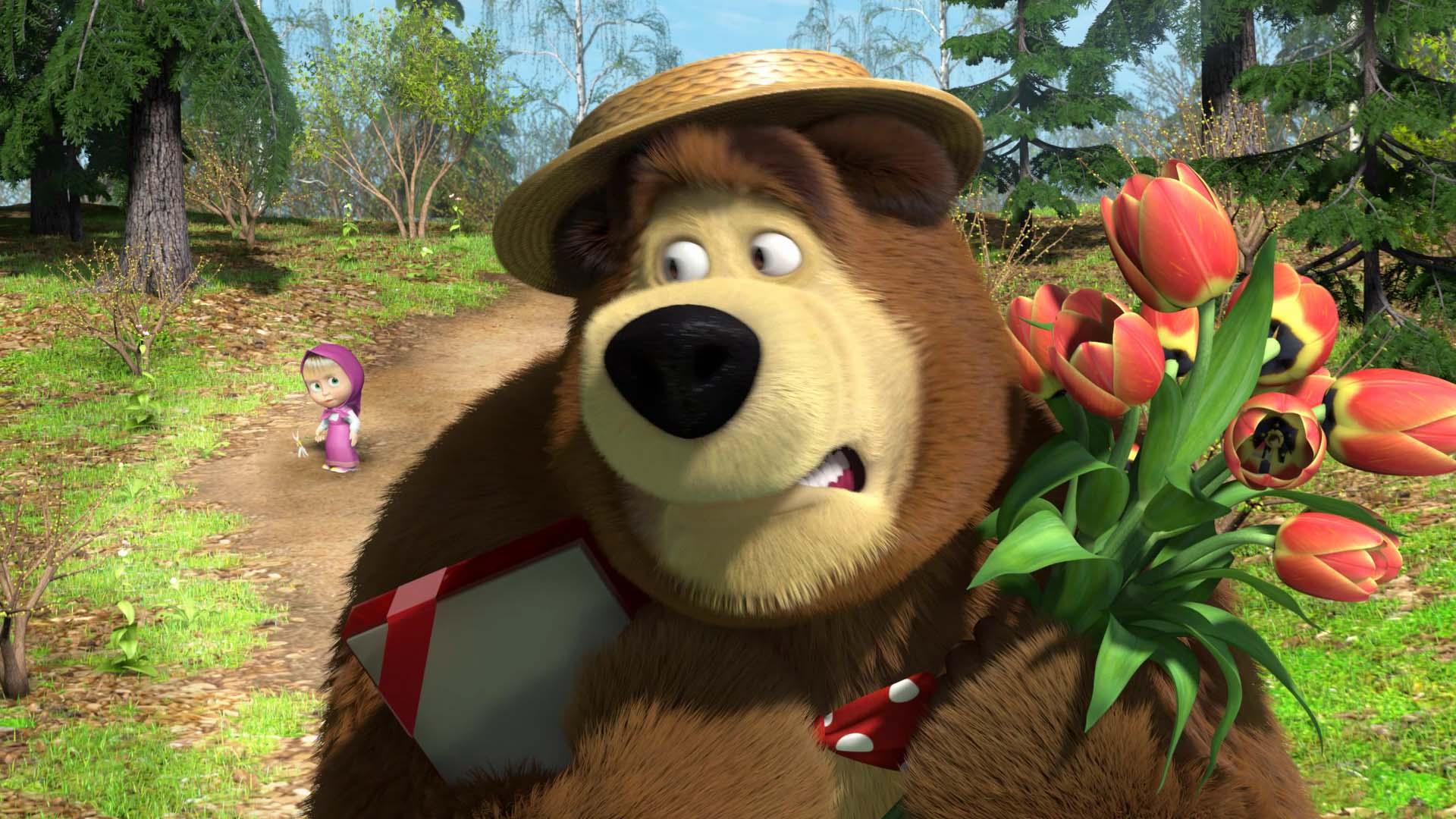 Сериал «Маша иМедведь» обеспечивает интерес к русской анимации— Исследование