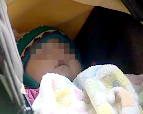 9-месячную девочку бросили вподъезде вЕкатеринбурге