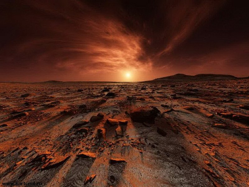 Ученые: вода наМарсе существует уже более миллиарда лет