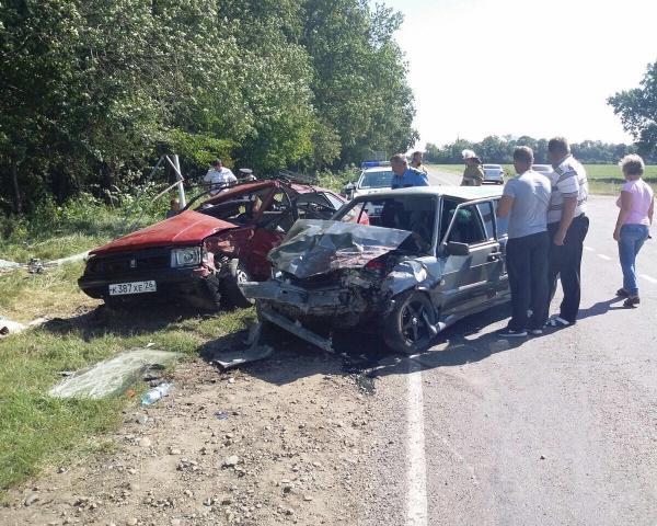 ВУспенском районе вДТП умер один человек ипострадали трое