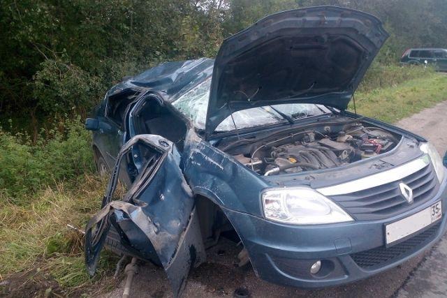 ВДТП натрассе Череповец-Белозерск пострадала 19-летняя девушка