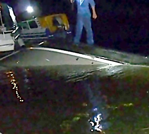 ВСамаре катер столкнулся сбаржей, один пассажир бесследно пропал