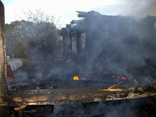 Напожаре вБалашове умер 45-летний мужчина