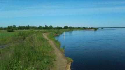 НаУссури уровень воды достиг категории «неблагоприятного явления»