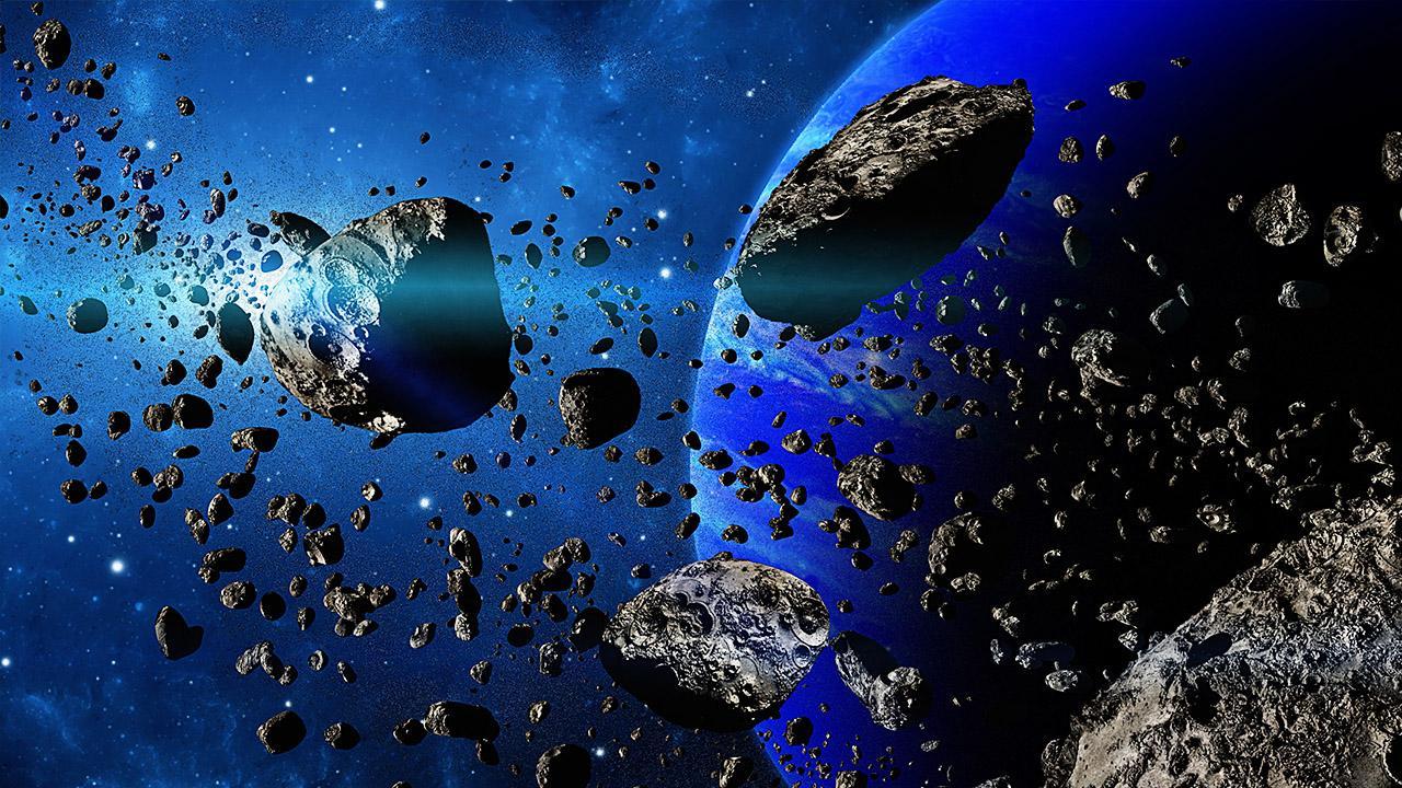 обои для рабочего стола космос метеориты № 610654 бесплатно