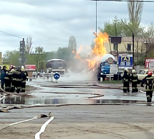 Руководитель АГЗС наулице Лебедева, где зажегся сжиженный газ, пойдет под суд