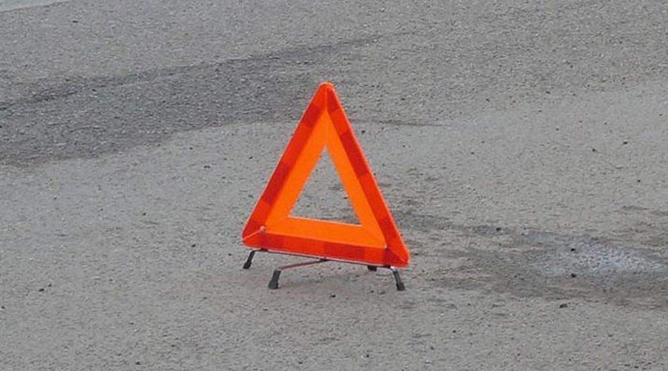 ВКазани шофёр мотоцикла сбил пешехода и исчез сместа ДТП