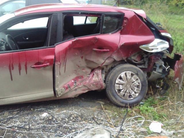 ВСамаре из-за ДТП автоледи получила перелом позвоночника