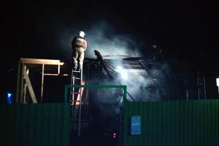 Отец инесовершеннолетняя дочь погибли впожаре вТверской области