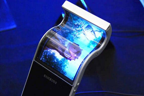 Самсунг зарегистрировала патент нагнущиеся OLED-дисплеи