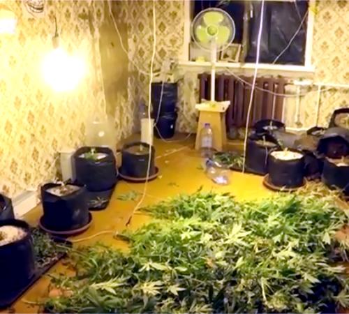 Полицейские устранили вКазани нарколабораторию