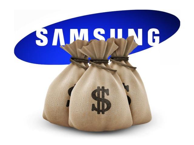 Samsung увеличила прибыль на 80