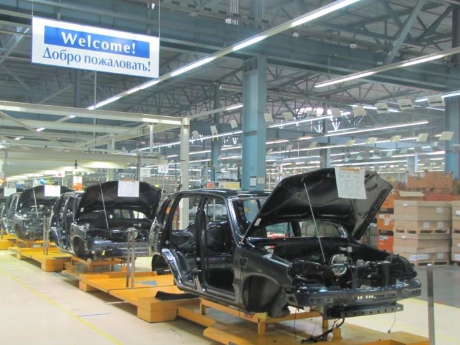 Производство Chevrolet Niva снижено на 11 процентов