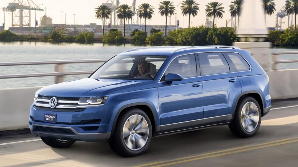 Volkswagen представит новый кроссовер в октябре