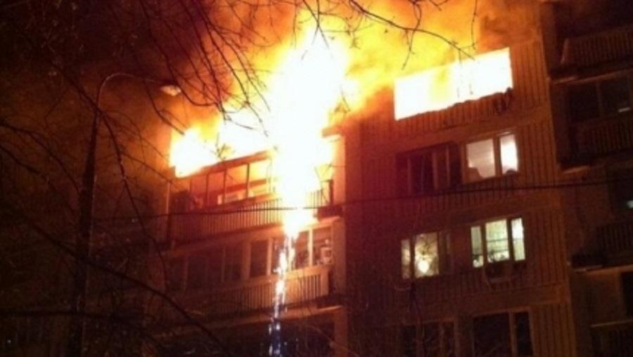 ВКазани впожаре вквартире погибла женщина