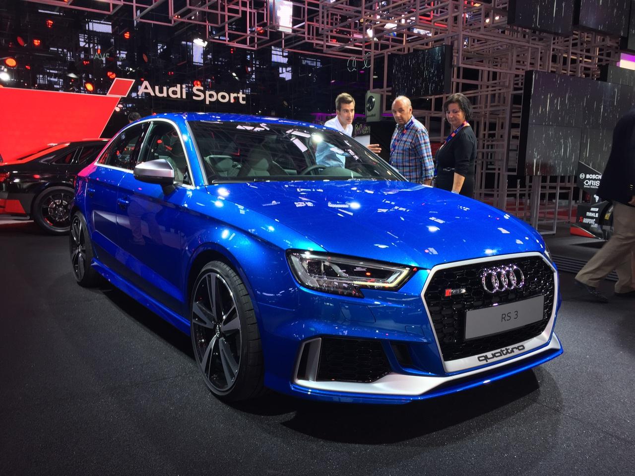 Модель Ауди RS3 предстала перед публикой вновом кузове