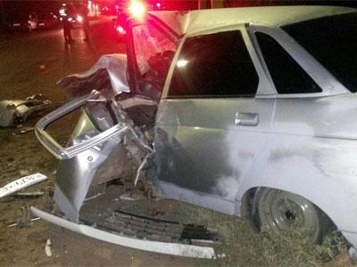 ВАстрахани злостный нарушитель спровоцировал тройное ДТП, пострадали три человека