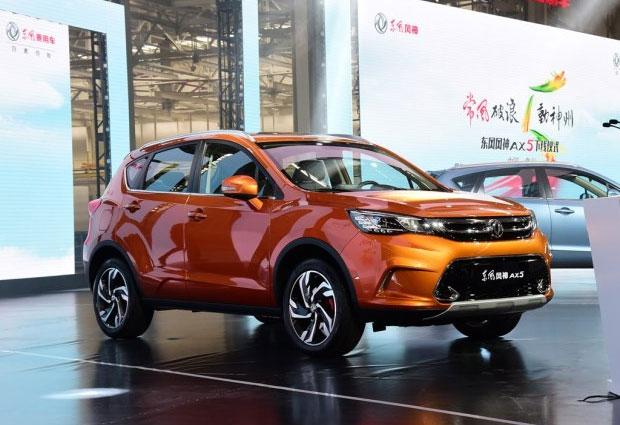 ВКитайской республике сошел сконвейера кроссовер Dongfeng AX5