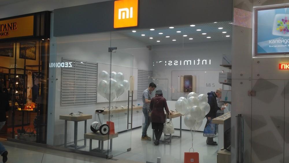 Xiaomi открыла монобрендовый магазин в столице России