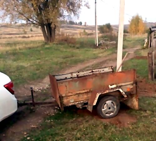 Гражданин Лысковского района задавил свою мать