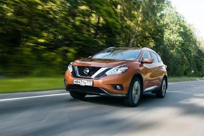 Продажи Nissan Murano успешно стартовали на российском рынке class=