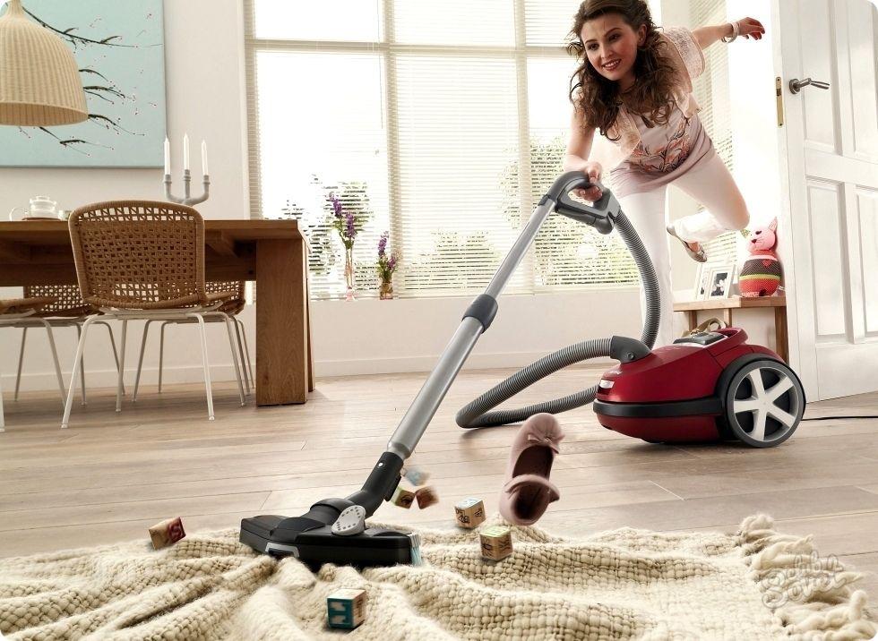 Процесс уборки в доме положительно влияет на психическое состояние