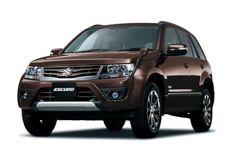 Suzuki начала продажи нового Escudo