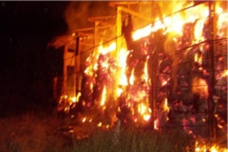 ВТвери впожаре  пострадала 80-летняя женщина
