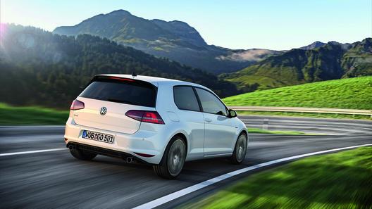 VW опробует новейшую силовую установку нарестайлинговом Golf