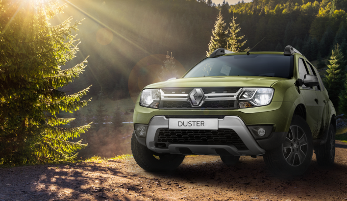 Renault Duster лидирует на рынке SUV в России за три квартала